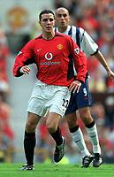 Fotball. Premier League. 17.08.2002.<br /> Manchester United v West Bromwich.<br /> John O'Shea, United.<br /> Foto: Andrew Cowie, Digitalsport