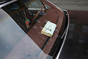American Cadillac car with the bible