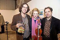 It was a season of firsts that Music for Galway&rsquo;s new artistic director, international concert pianist Finghin Collins unveiled at the Shed at Galway Docks on Monday night. At this unusual venue, he presented an exciting programme that includes a great variety of musical delights to intrigue and attract devoted music-lovers and newcomers alike for the MUSIC FOR GALWAY 33RD  SEASON.  Adrian Mantu  and Bogdan Sofei  from Con Tempo Quartet with Eizabeth Cooney Violinist were at the Shed at Galway Docks for the launch.<br /> <br /> Music for Galway have honoured Finghin&rsquo;s predecessor Jane O&rsquo;Leary by commissioning her to write a solo piano piece which will be premiered by Korean pianist Ah Ruem Ahn on November14th.  There is also the Irish premiere, on October 30th, of Ian Wilson&rsquo;s &ldquo;The Little Spanish Prison&rdquo; by David Cohen and Sasha Grynyuk. Both composers will be present to introduce their works on the night. Picture:Andrew Downes.