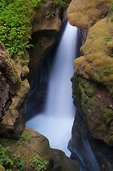 Ladder Creek Falls, North Cascades National Park, Washington, US