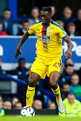 Aaron Wan-Bissaka of Crystal Palace - Mandatory by-line: Robbie Stephenson/JMP - 21/10/2018 - FOOTBALL - Goodison Park - Liverpool, England - Everton v Crystal Palace - Premier League