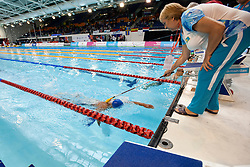 KAZ, IBRASHEV Mansurbek (S11)  at 2015 IPC Swimming World Championships -  Men's 100m Freestyle S11