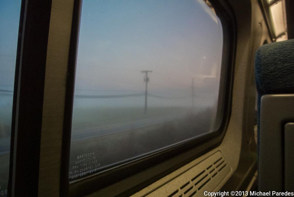 Amtrak window, between Baltimore and Philadelphia