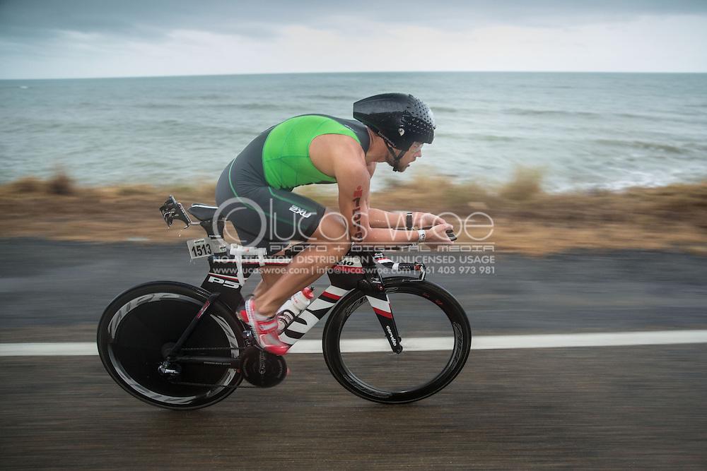 Dmity-Lee Duke (AUS), June 8, 2014 - TRIATHLON : Ironman Cairns 70.3 / Cairns Airport Adventure Festival, Palm Cove - Captain Cook Highway - Cairns Esplanade, Cairns, Queensland, Australia. Credit: Lucas Wroe