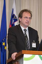 President of NZS mag. Ivan Simic at Management conference of Slovenian Football Federation, on March 10, 2009, in Hotel Kokra, Brdo pri Kranju, Slovenia. (Photo by Vid Ponikvar / Sportida)