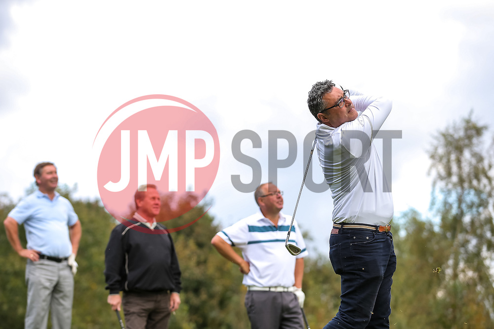 Team Blue Poppy take part in the annual Bristol Rovers Golf Day - Rogan Thomson/JMP - 10/10/2016 - GOLF - Farrington Park - Bristol, England - Bristol Rovers Golf Day.