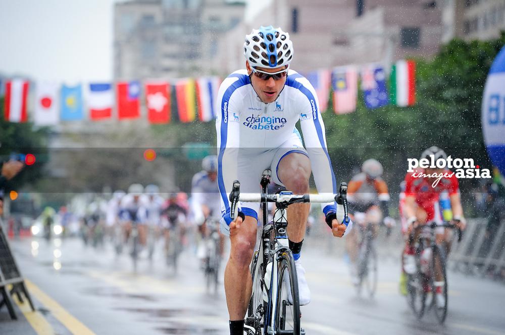 2014 Tour de Taiwan / stage1 / Taiwan / Team Novo Nordisk /rain