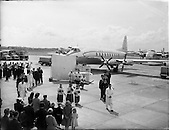 1955 - Blessing of the Aer Lingus fleet at Dublin Airport.