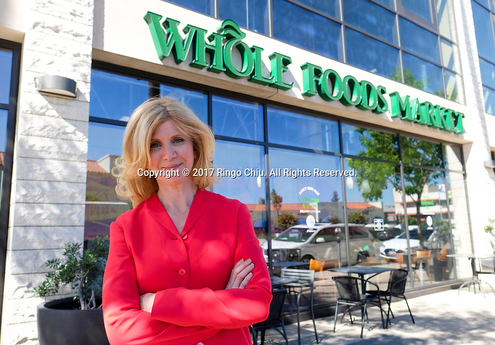 Gail Becker founded L.A.-based Caulipower, which makes a frozen cauliflower pizza crust sell  in Whole Foods Store.  (Photo by Ringo Chiu)<br /> <br /> Usage Notes: This content is intended for editorial use only. For other uses, additional clearances may be required.