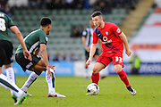 York City's Bradley Fewster during the Sky Bet League 2 match between Plymouth Argyle and York City at Home Park, Plymouth, England on 28 March 2016. Photo by Graham Hunt.