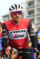 John Degenkolb (GER) Trek-Segafredo ready for the start of the 2019 Gent-Wevelgem in Flanders Fields running 252km from Deinze to Wevelgem, Belgium. 31st March 2019.<br /> Picture: Eoin Clarke | Cyclefile<br /> <br /> All photos usage must carry mandatory copyright credit (© Cyclefile | Eoin Clarke)