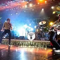 Indie rockers The Vaccines play to a sold out Motherwell Civic Centre, Scotland