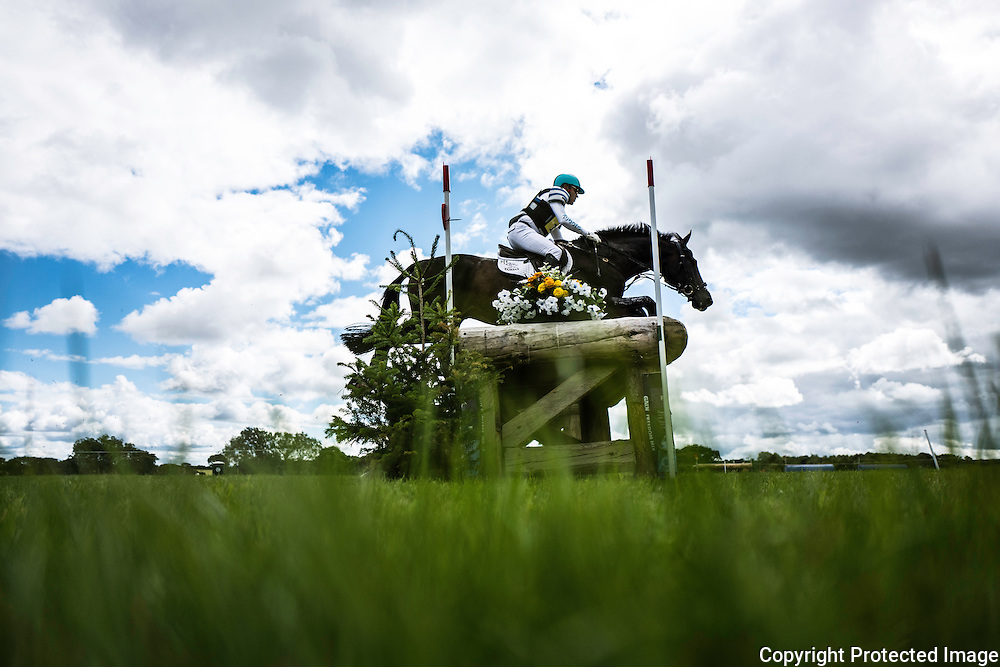 Burgham, Morpeth, Northumberland, UK. 30th July 2016. Eventers competing at the Burgham International Horse Trials in Northumberland.