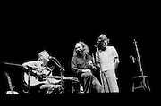 Crosby Stills and Nash do an acoustic song together