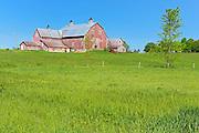 Red barn <br /> Harvey<br /> New Brunswick<br /> Canada