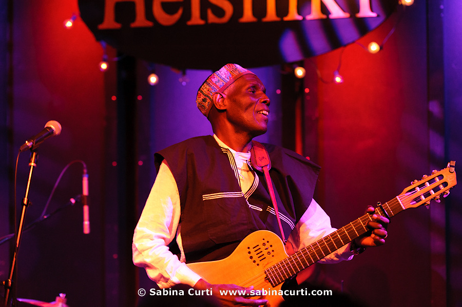 Oliver Mtukudzi and the Black Spirits live at Helsinki Hudson