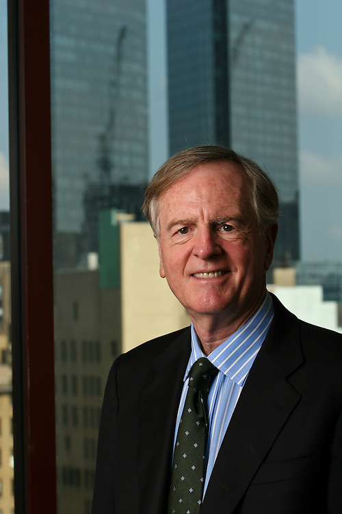 John Sculley, Partner, Rho Ventures, in his NYC office, 7/19/06.