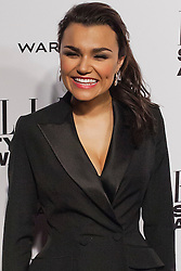 © Licensed to London News Pictures. 18/02/2014. London, UK. Samantha Barks arrives on the red carpet for the Elle Style Awards on the Embankment in central London. Photo credit : Andrea Baldo/LNP