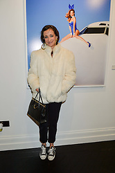 LEAH WOOD at a party to celebrate the launch of the Maddox Gallery at 9 Maddox Street, London on 3rd December 2015.