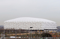 OLYMPIC GAMES - LONDON 2012 VENUES - LONDON (GBR) - 23/11/2011 - PHOTO : GREGORY LENORMAND / DPPI - BASKETBALL ARENA