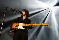 Edinburgh, Scotland, UK. 11 August 2019. Anna Calvi playing at Leith Theatre during the Edinburgh International Festival, Scotland, UK.Credit; Iain Masterton/Alamy Live News ++ Editorial Use Only ++