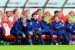 England Manager Roy Hodgson and his coaching staff watch the game - Mandatory by-line: Matt McNulty/JMP - 27/05/2016 - FOOTBALL - Stadium of Light - Sunderland, United Kingdom - England v Australia - International Friendly