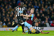 Burnley v Newcastle United - 31 October 2017