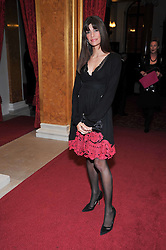 LISA BILTON at a party to celebrate 300 years of Tatler magazine held at Lancaster House, London on 14th October 2009.