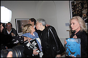 MARIANNE FAITHFUL; CHRIS STEIN; DEBBIE HARRY, Chris Stein / Negative: Me, Blondie, and The Advent of Chris Stein / Negative: Me, Blondie, and The Advent of Punk - private view, Somerset House, the Strand. London. 5 November 2014.