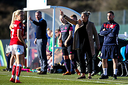 Tanya Oxtoby manager of Bristol City Women and Willie Kirk head coach of Everton Ladies - Mandatory by-line: Robbie Stephenson/JMP - 24/03/2019 - FOOTBALL - Stoke Gifford Stadium - Bristol, England - Bristol City Women v Everton Ladies - FA Women's Super League