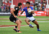 Apr 14, 2019-Rugby-HSBC Singapore Sevens-Fifth Place Semifinal-Samoa vs New Zealand