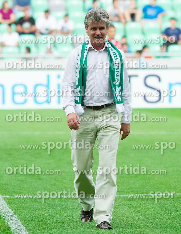 Branko Elsner during friendly football match between NK Olimpija Ljubljana and Crvena Zvezda (Belgrade), on June 27, 2012 in SRC Stozice, Ljubljana, Slovenia. Olimpija defeated Crvena Zvezda 3-0. (Photo by Vid Ponikvar / Sportida.com)