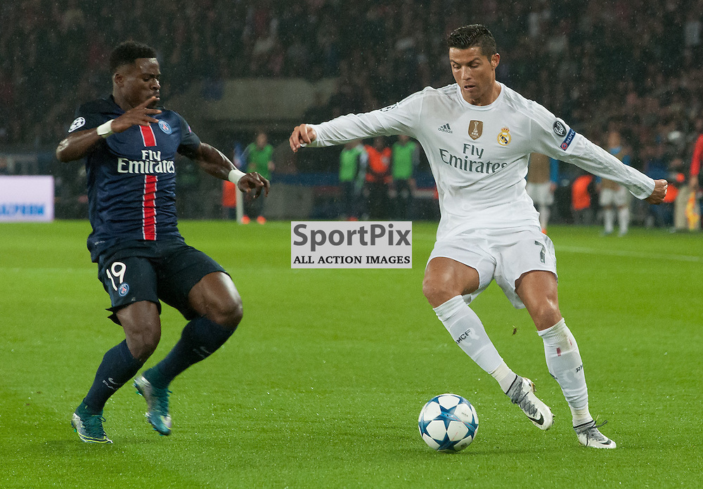 Serge Aurier (Paris Saint-Germain) and Cristiano Ronaldo (Real Madrid)