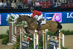 Madden Beezie, (USA), Simon<br /> Longines FEI World Cup™ Jumping Final I<br /> Las Vegas 2015<br />  © Hippo Foto - Dirk Caremans<br /> 17/04/15