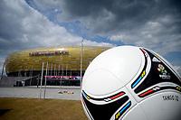 "GDANSK ARENA Pallone Europeo<br /> Danzica 10/06/2012  ""GDANSK ARENA""<br /> Football calcio Europeo 2012 Spagna vs Italia<br /> Football Calcio Euro 2012<br /> Foto Insidefoto Alessandro Sabattini"