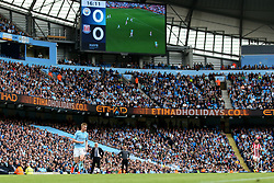 Kevin De Bruyne of Manchester City  - Mandatory by-line: Matt McNulty/JMP - 14/10/2017 - FOOTBALL - Etihad Stadium - Manchester, England - Manchester City v Stoke City - Premier League