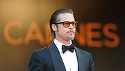 "Brad Pitt  arrive on the red carpet for  "" The Tree of Life""  film premiere at the Palais des Festivals during the 64th Annual Cannes Film Festival on May 16, 2011 in Cannes, France ..Ki Price + 33678889497"