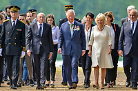 Prince Charles, Prince of Wales and Camilla, Duchess of Cornwall, during the remembrance of 8 May 1945, Lyon