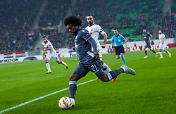November 8, 2018 - Budapest, Hungary - Diego Biseswar in action during the UEFA Europa League Group L match between MOL Vidi FC and FC PAOK at Groupama stadium on Nov 08, 2018 in Budapest, Hungary. (Credit Image: © Robert Szaniszlo/NurPhoto via ZUMA Press)