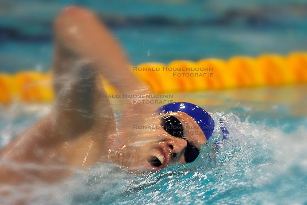 07-04-2011 ZWEMMEN: SWIMCUP: EINDHOVEN<br /> Ken  Cortens<br /> &copy;2011 Ronald Hoogendoorn Photography