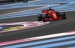 June 22, 2018 - Le Castellet, France - Motorsports: FIA Formula One World Championship 2018, Grand Prix of France, .#5 Sebastian Vettel (GER, Scuderia Ferrari) (Credit Image: © Hoch Zwei via ZUMA Wire)