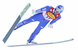 17.12.2016, Nordische Arena, Ramsau, AUT, FIS Weltcup Nordische Kombination, Skisprung, im Bild Jakob Lange (GER) // Jakob Lange of Germany during Skijumping Competition of FIS Nordic Combined World Cup, at the Nordic Arena in Ramsau, Austria on 2016/12/17. EXPA Pictures © 2016, PhotoCredit: EXPA/ Martin Huber