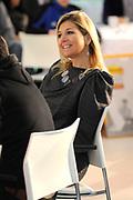 Her Royal Highness Princess M&aacute;xima of the Netherlands attended the conference &quot;Youth and Money&quot; by the Foundation What Do You Spend in the Jaarbeurs in Utrecht. During this conference the results of research on different types of funds use among adolescents is presented. Princess Maxima takes the first copy of the book money mindset in receiving President of the Ms. Foundation MB Fox. In addition, the Princess part in one of the workshops.<br /> <br /> <br /> Hare Koninklijke Hoogheid Prinses M&aacute;xima der Nederlanden is  aanwezig bij de conferentie &lsquo;Jongeren &amp; Geld&rsquo; van de Stichting Weet Wat je Besteedt in de Jaarbeurs in Utrecht. Tijdens deze conferentie worden de resultaten van onderzoek naar verschillende typen van geldgebruik onder jongeren gepresenteerd. Prinses M&aacute;xima neemt het eerste exemplaar van het boek MoneyMindsets in ontvangst van voorzitter van de Stichting mevrouw M.B. Vos. Daarnaast neemt de Prinses deel aan &eacute;&eacute;n van de workshops.