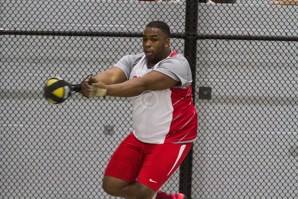 Boston University Multi-team indoor track & field, men weight throw, BU