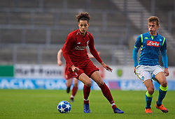 ST HELENS, ENGLAND - Monday, December 10, 2018: Liverpool's Rhys Williams during the UEFA Youth League Group C match between Liverpool FC and SSC Napoli at Langtree Park. (Pic by David Rawcliffe/Propaganda)
