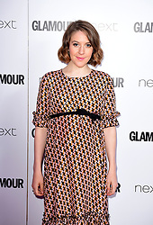 Gemma Whelan attending the Glamour Women of the Year Awards 2017 in association with Next, Berkeley Square Gardens, London.