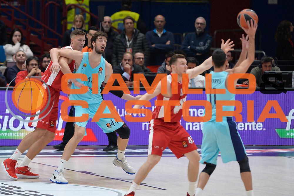 Ante Tomic<br /> Olimpia Milano - FC Barcellona<br /> EuroLeague 2017-2018<br /> Milano 26/10/2017<br /> Foto di Ivan Mancini /Ciamillo-Castoria