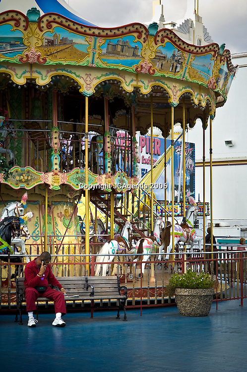 Boardwalk Carousel on Steel Pier Atlantic City, New Jersey 2006