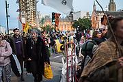 Extinction Rebellion protests. Westminster, London. 9 October 2019