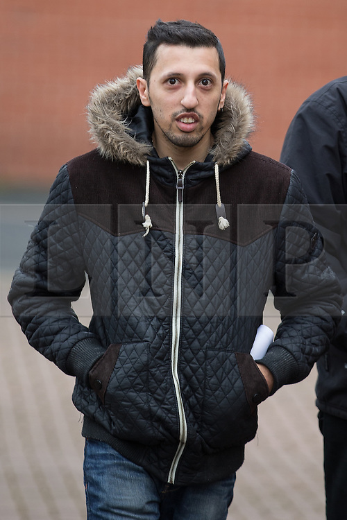 © Licensed to London News Pictures . REHAN ALI pictured arriving at Bury Magistrates Court on 3rd March 2015 as today (4th February 2016) he is one of ten men convicted of serious sexual offences in Rochdale between 2004 and 2008 , as part of Operation Doublet , an investigation into child sexual exploitation in the region . The convictions relate to offences committed against eight victims who were aged between 13 and 23 at the time of the abuse . Photo credit : Joel Goodman/LNP